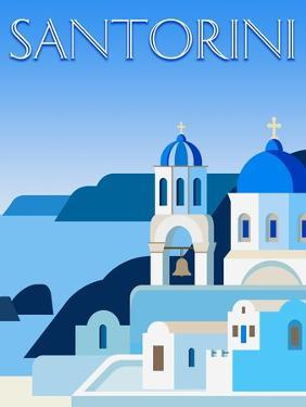 Destination Santorini by The Trainyard Cooperative