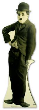 The Tramp - Charlie Chaplin 2 Lifesize Standup