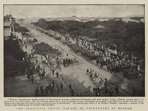The Transvaal Crisis, Parade of Volunteers at Durban