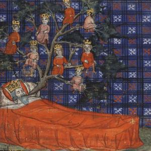 The Tree of Jesse (From the Bible Historiale by Guiart Des Moulin), 1400-1415