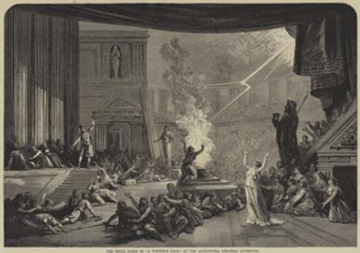 The Trial Scene in A Winter's Tale, at the Alexandra Theatre, Liverpool