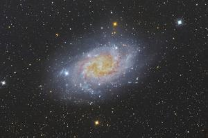 The Triangulum Galaxy, also known as Messier 33