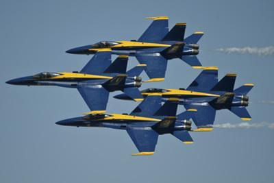 The U.S. Navy Flight Demonstration Squadron, the Blue Angels