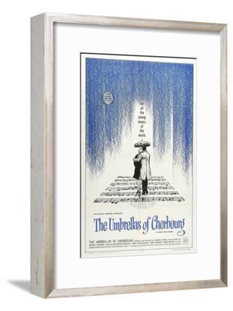 The Umbrellas of Cherbourg--Framed Masterprint