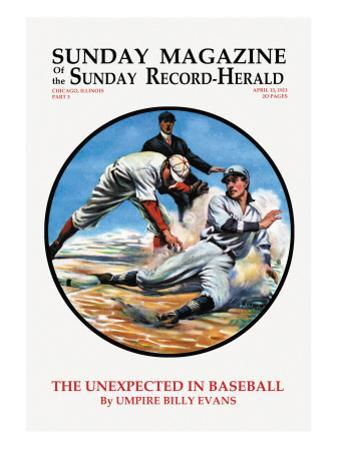 The Unexpected in Baseball