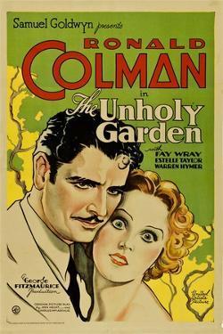 THE UNHOLY GARDEN, from left: Ronald Colman, Fay Wray, 1931.