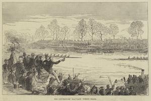 The Universities' Boat-Race, Corney Reach
