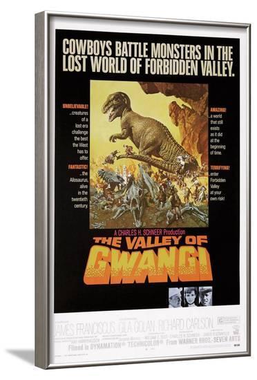 The Valley of Gwangi--Framed Art Print