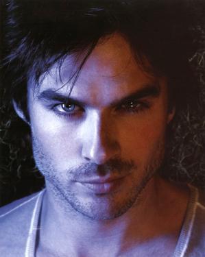 The Vampire Diaries Damon Ian Somerhalder TV Glossy Photo Photograph Print