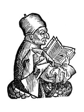 The Venerable Bede (C673-73), Anglo-Saxon Theologian, Scholar and Historian, 1493