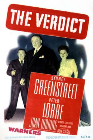 The Verdict - Movie Poster Reproduction