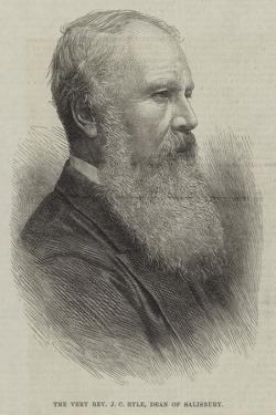 The Very Reverend J C Ryle, Dean of Salisbury
