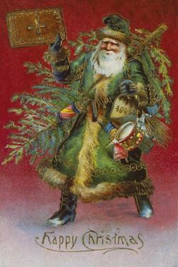 Father Christmas I by The Victorian Collection