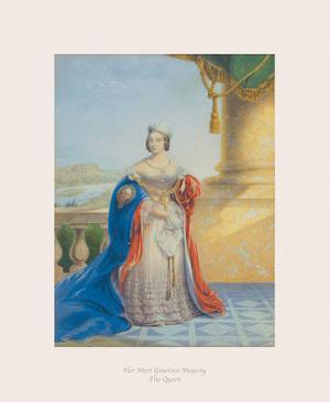 Her Most Gracious Majesty the Queen by The Victorian Collection