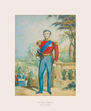 His Royal Highness Prince Albert II by The Victorian Collection