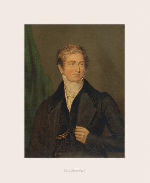 Sir Robert Peel by The Victorian Collection