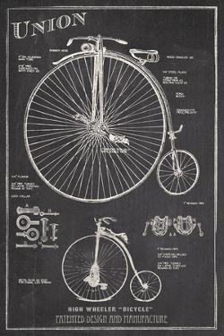 Antique Bicycles I by The Vintage Collection
