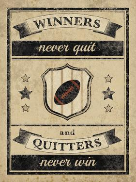 Athletic Wisdom - Win by The Vintage Collection