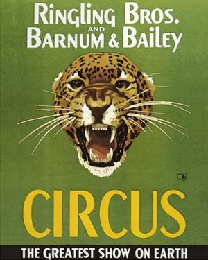 Barnum And Bailey Circus by The Vintage Collection