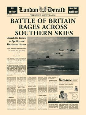 Battle of Britain Rages by The Vintage Collection