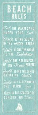 Beach Rules by The Vintage Collection