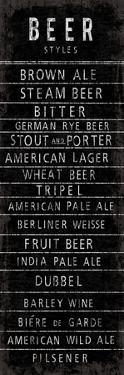 Beer Styles - Blackboard by The Vintage Collection