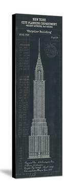 Chrysler Building Plan by The Vintage Collection