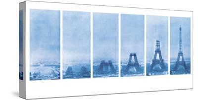 Construction of the Eiffel Tower - Blueprint