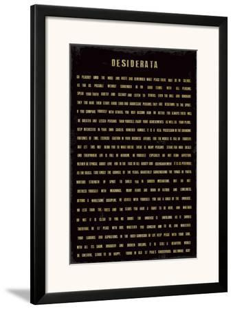 Desiderata by The Vintage Collection