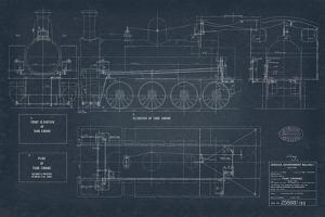 Diagram for Tank Engines I by The Vintage Collection