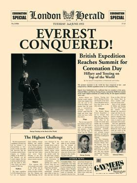 Everest Conquered! by The Vintage Collection
