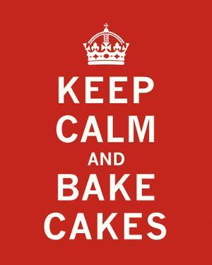 Keep Calm, Bake Cakes by The Vintage Collection