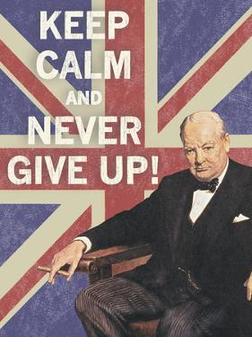 Keep Calm Brit I by The Vintage Collection