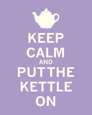 Keep Calm, Lavender Tea by The Vintage Collection