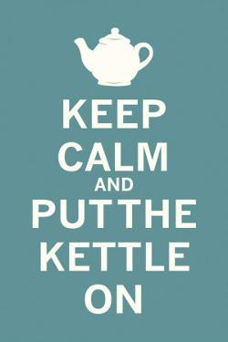 Keep Calm Tea by The Vintage Collection