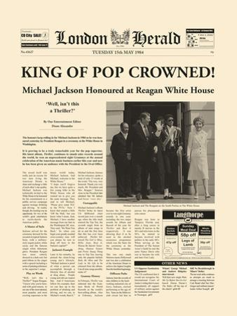 King Of Pop Crowned by The Vintage Collection