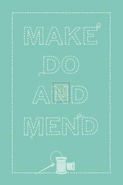 Make Do And Mend by The Vintage Collection
