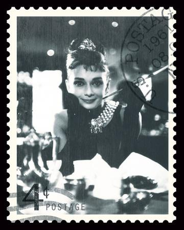 Movie Stamp II by The Vintage Collection