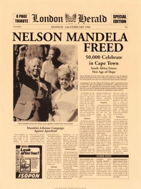 Nelson Mandela Freed by The Vintage Collection