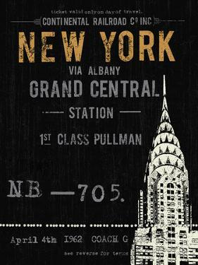 New York Travel by The Vintage Collection