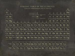 Periodic Table by The Vintage Collection