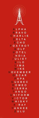 Phonetic Alphabet I by The Vintage Collection