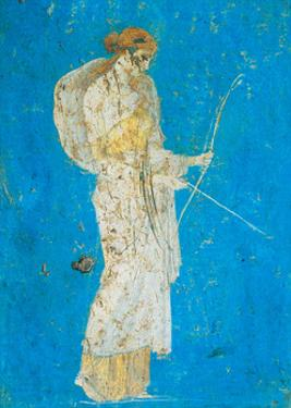 Pompeii Fresco I by The Vintage Collection