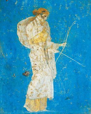 Pompeii Fresco I by The Vintage Collection