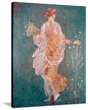 Pompeii Fresco II by The Vintage Collection