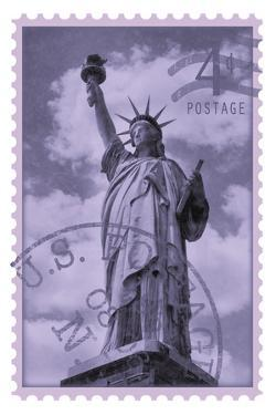 Retro Stamp V by The Vintage Collection