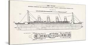 RMS Titanic by The Vintage Collection