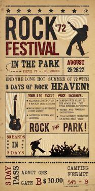 Rock Festival by The Vintage Collection