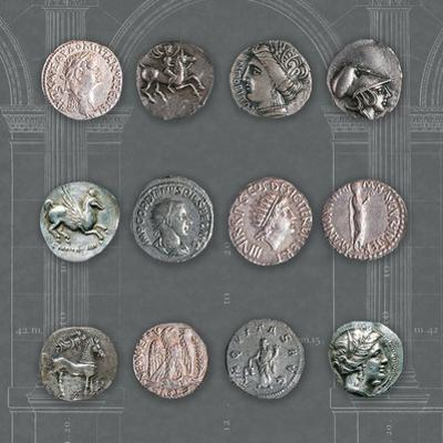 Roman Coins II by The Vintage Collection