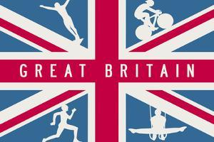 Sporting Britain I by The Vintage Collection